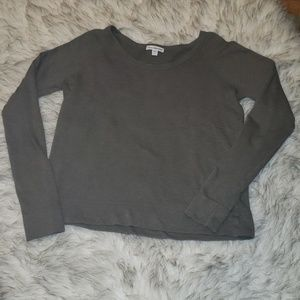 James Perse Standard Relaxed Crop Pullover
